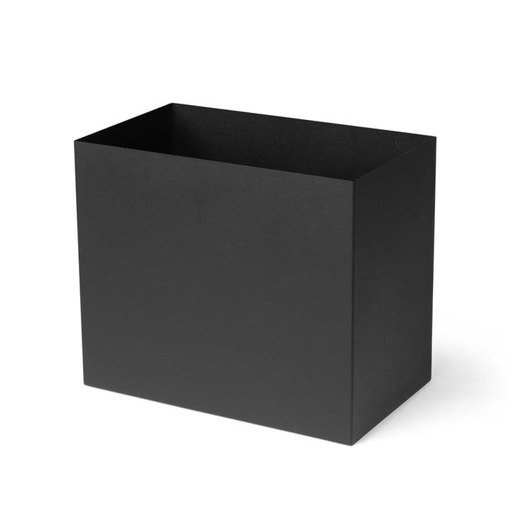 Conteneur pour Plant Box grand modèle, noir by ferm Living