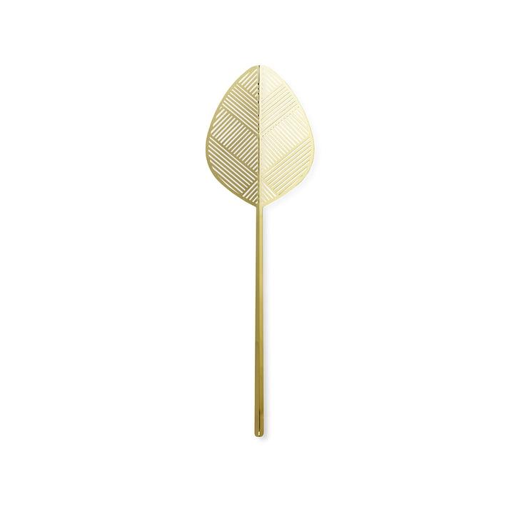 Leaflike feuille de métal Alva H 50,6 cm de Lucie Kaas en laiton