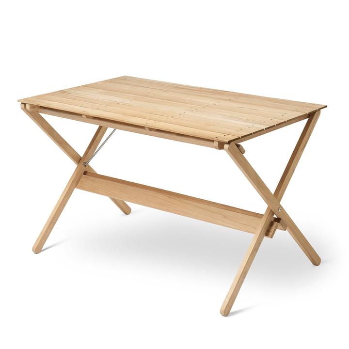BM3670 Table à manger 71,5 x 115 cm Carl Hansen en teck non traité