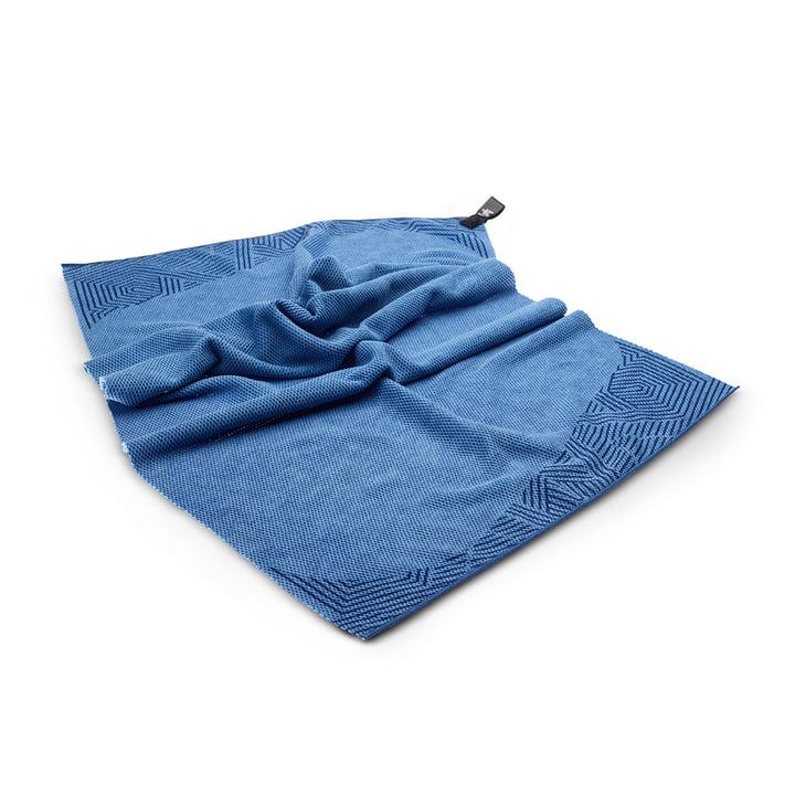 Serviette de plage Toki Moe 60 x 120 cm de Terra Nation en bleu