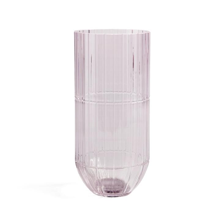 Colour Vase en verre vase XL de Hay dans rose