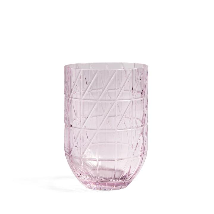 Colour Vase Vase Hay en verre L de en rose