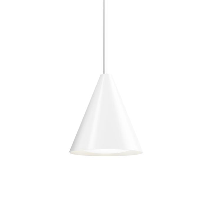 Keglen LED lampe à suspension Ø 250 mm de Louis Poulsen en blanc