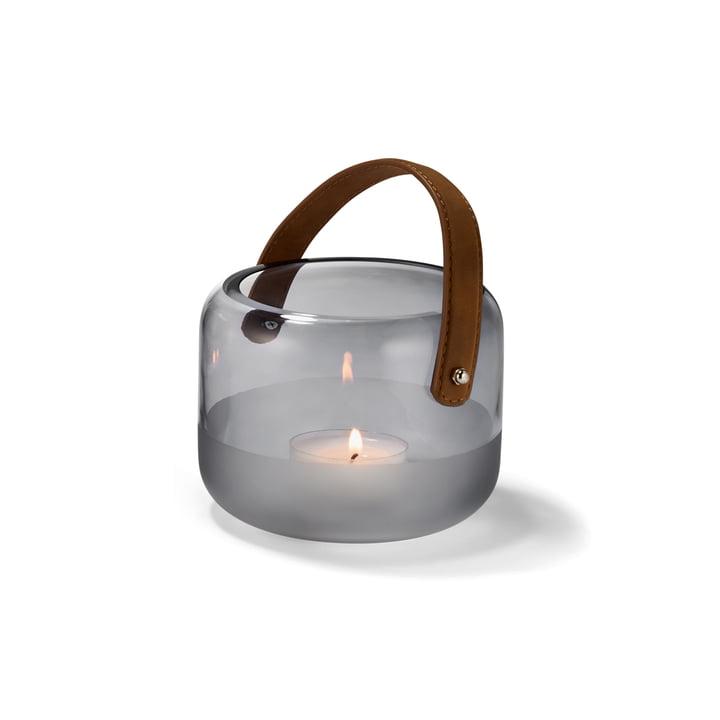 Lanterne Marlon Ø 15 x H 12 cm de Philippi en clair / marron