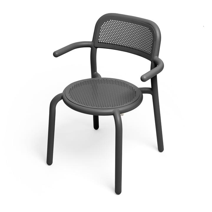 Le fauteuil Toní de Fatboy dans la couleur anthracite