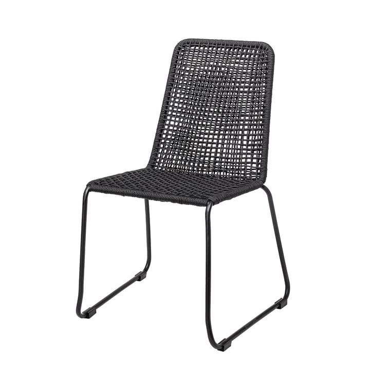 La chaise Mundo Bloomingville en noir