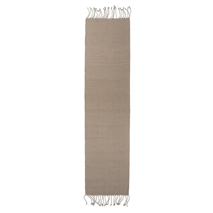 Tapis Bloomingville en fibres naturelles 280 x 70 cm en jute