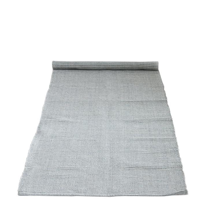 Tapis avec motif 240 x 75 cm de Bloomingville en gris