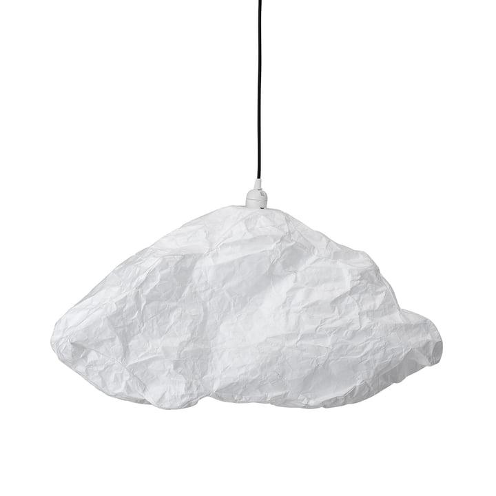 Pendentif lumière Nuage de Bloomingville en blanc