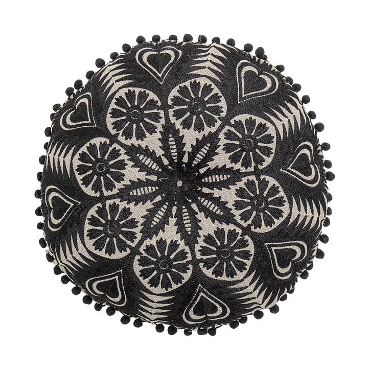 Coussin, Ø 36 cm à partir Bloomingville du noir