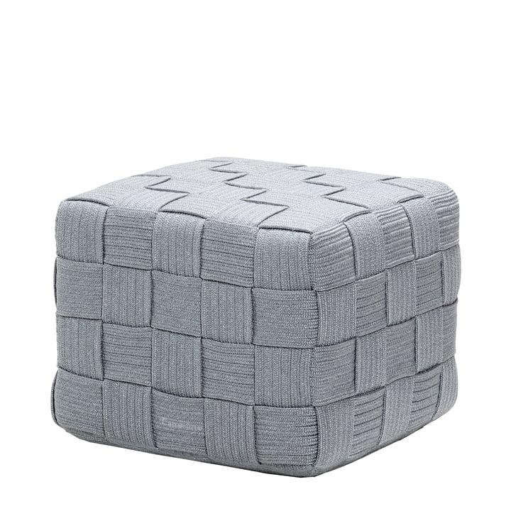 Cube Tabouret de Cane-line en gris clair