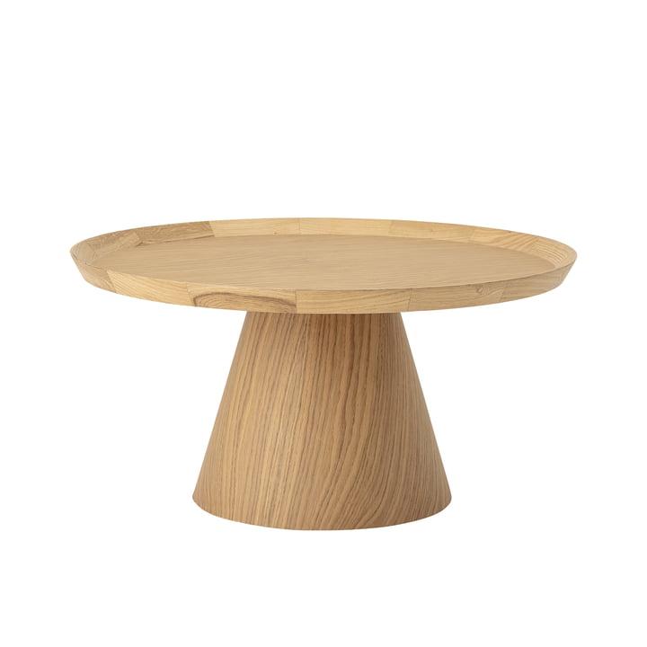 Table basse Luana Ø 74 x H 37 cm Bloomingville en chêne