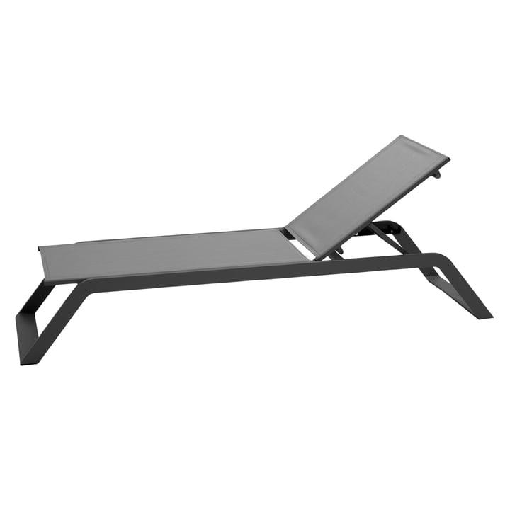 Chaise longue de sieste, grise par Cane-line