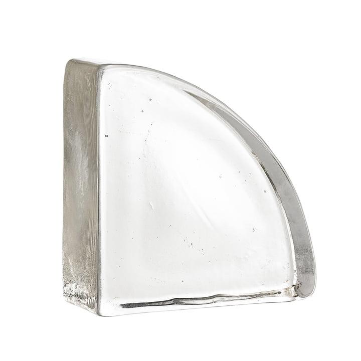 Sculpture en verre fabriquée à partir de verre recyclé de Bloomingville