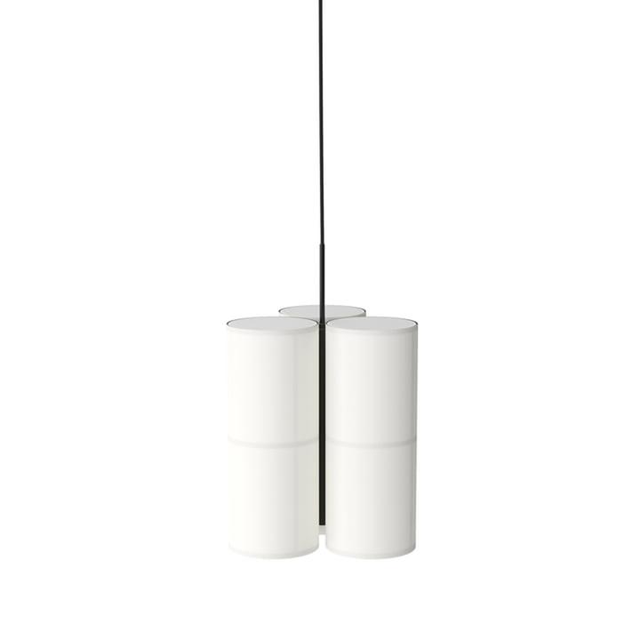 Grappe de lampes à suspension Hashira, petite, Ø 37 x H 45 cm de Menu