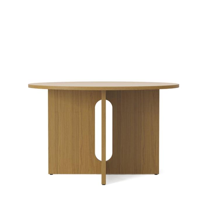 Table androgyne, Ø 120 x H 73 cm, chêne de Menu
