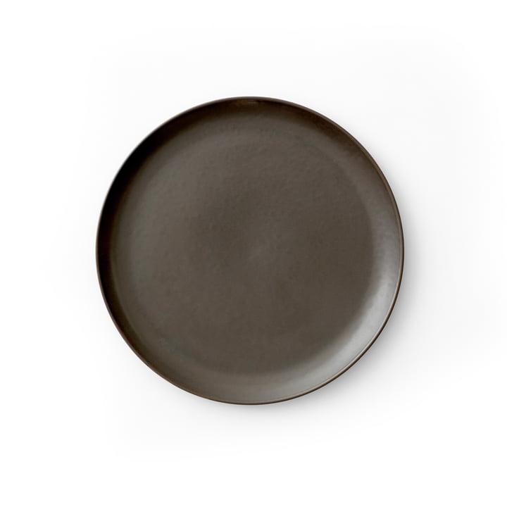 New Norm Plaque latérale Ø 19 cm, émaillée en foncé par Menu
