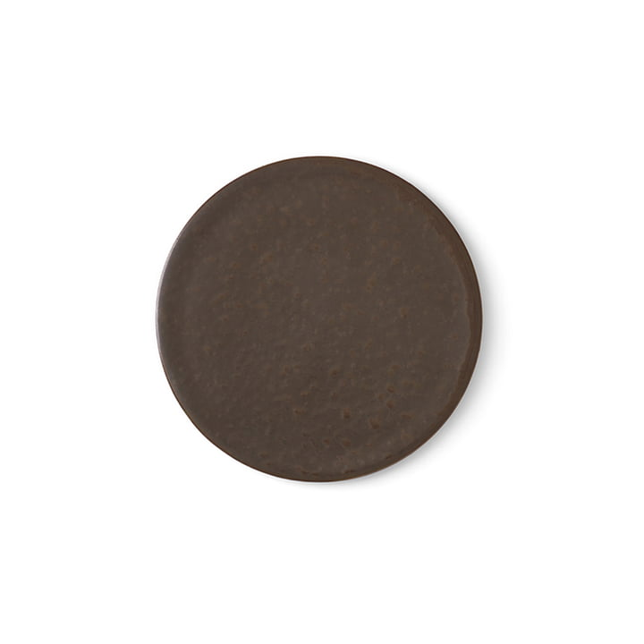 Menu - New Norm assiette / couvercle Ø 1 3. 5 cm, émaillé foncé