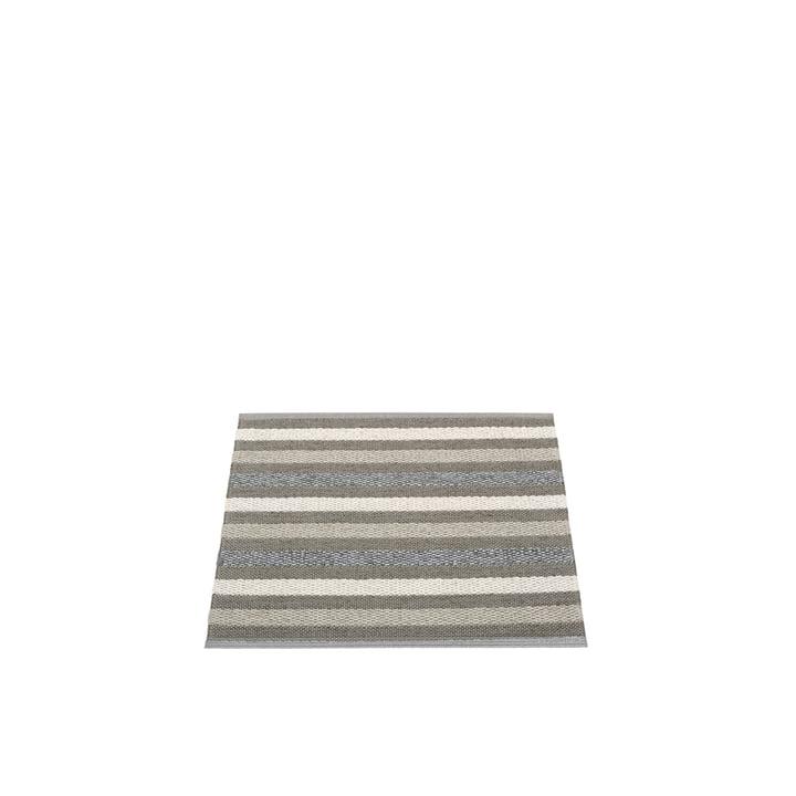 Grace tapis 70 x 60 cm de Pappelina au charbon de bois