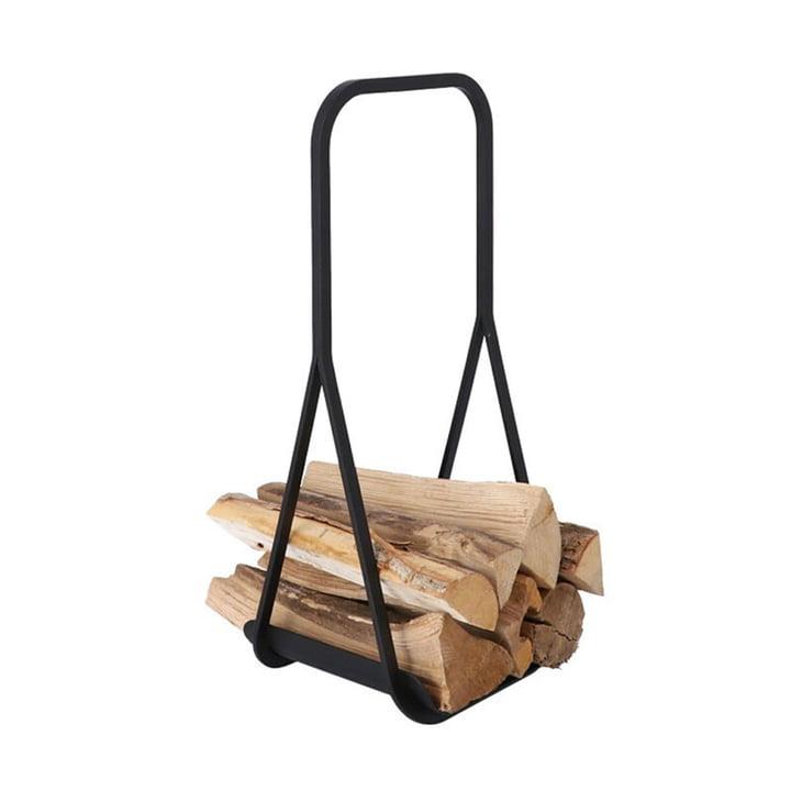 Log Carrier transporteur de Jan Kurtz bois de chauffage de en noir
