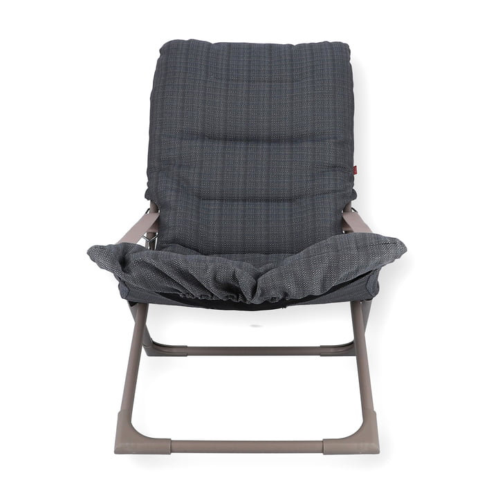 Fauteuil Fiesta Soft from Fiam in taupe / sea graphite