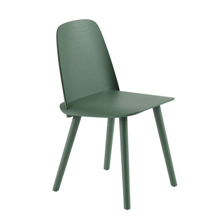 Nerd Chair de Muuto in green