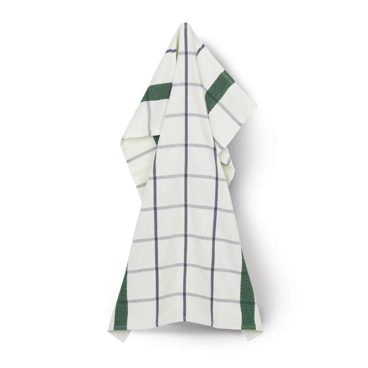 Serviette éponge 50 x 70 cm de Juna en vert clair