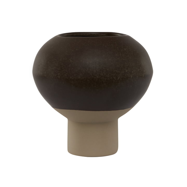 Vase Hagi, brun par OYOY