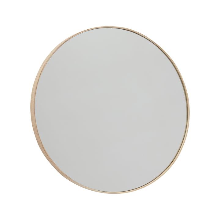 Miroir mural Mun Ø 70 cm, cendre de OYOY