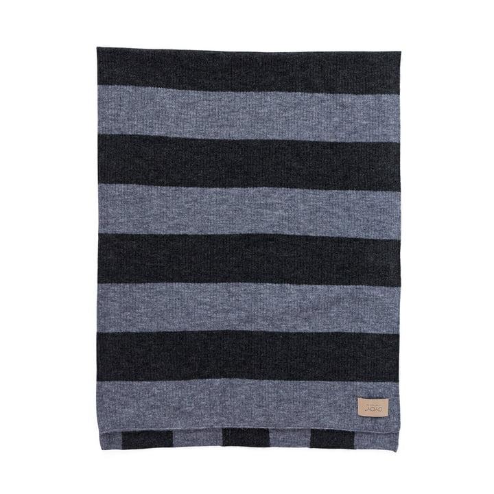 Sonno Couverture en laine 130 x 170 cm, mélange de gris OYOY