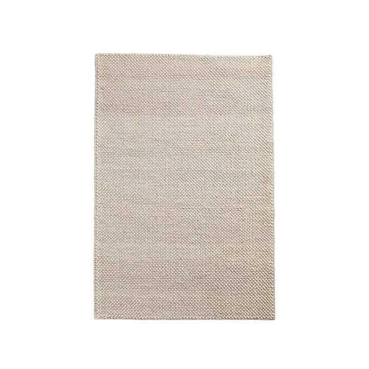 Tapis à poils 90 x 140 cm de Woud en blanc cassé