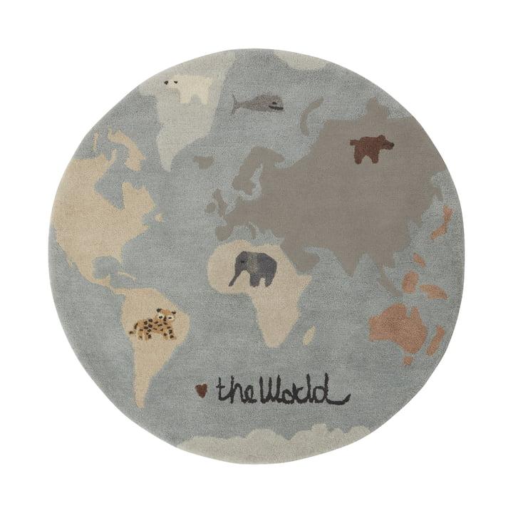 Tapis de jeu The World Ø 120 cm de OYOY