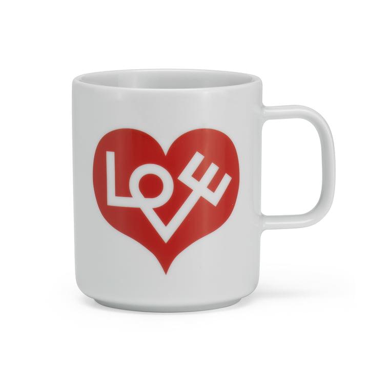 Coffee Mug Love Heart de Vitra en rouge