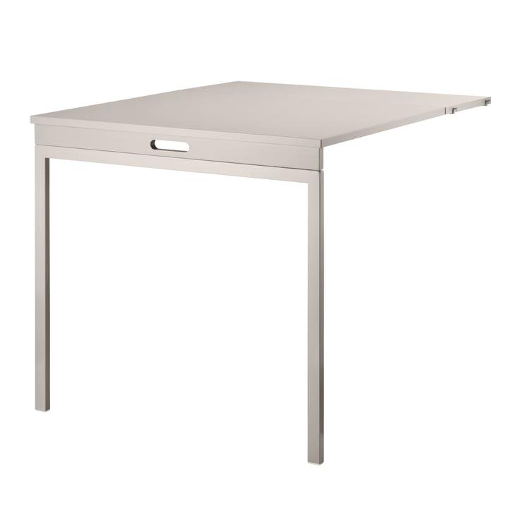 Table pliante de String couleur beige