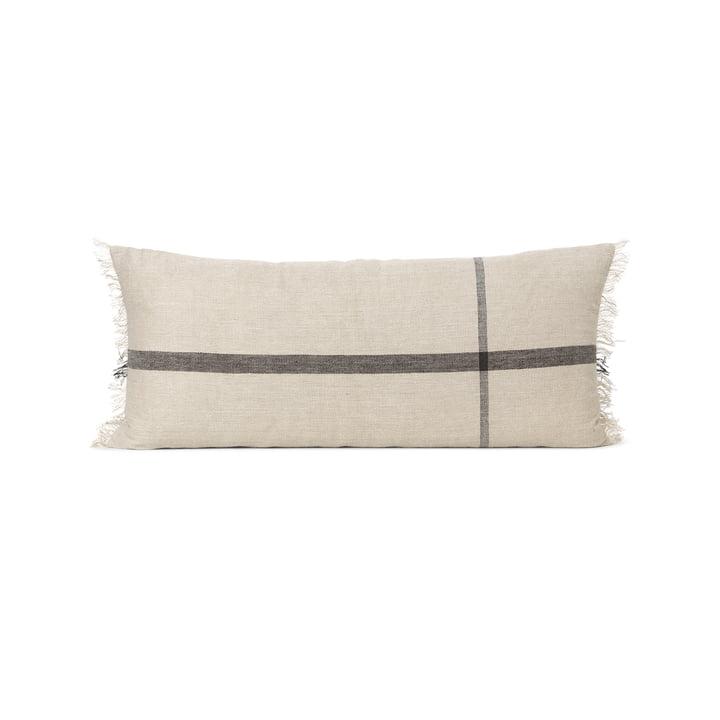 Coussin de calme 38 x 88 cm by ferm Vivre à dos de chameau / noir