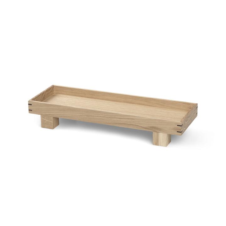ferm Living - Bon plateau en bois, x-small / chêne