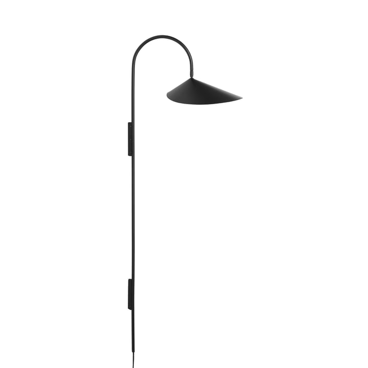 Arum Tall wall lamp by ferm Vivre en noir