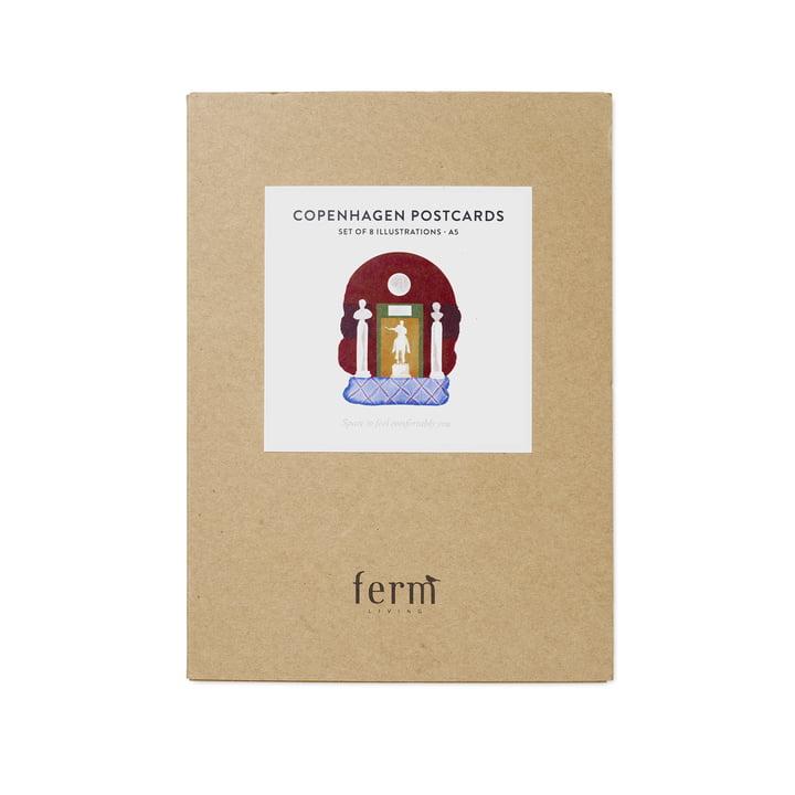 Cartes postales Copenhague 8 pièces par ferm Living