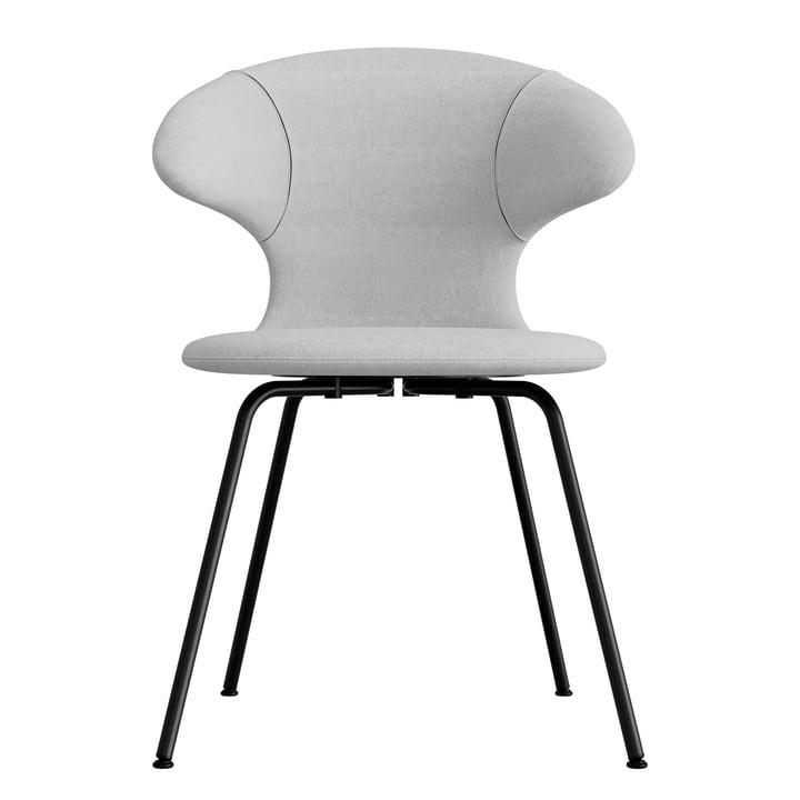 Umage - Chaise Time Flies, base noire, gris argenté / gris argenté