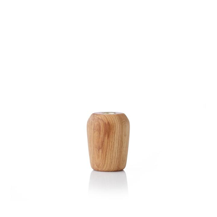 Torso Chandelier 9 cm de chêne applicata huilé