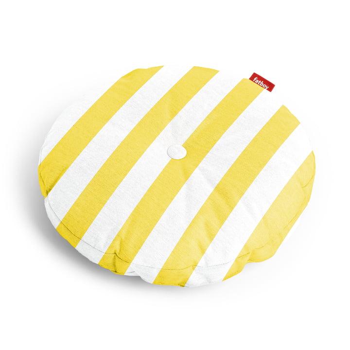 Circle housse de siège Ø 50 x 4 cm à partir Fatboy de en jaune rayé