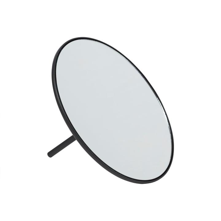 Miroir de table IO Ø 18 cm de Gejst en noir