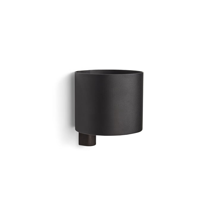 Kollage Pot de fleur Ø 14 x H 12 cm de Gejst en noir