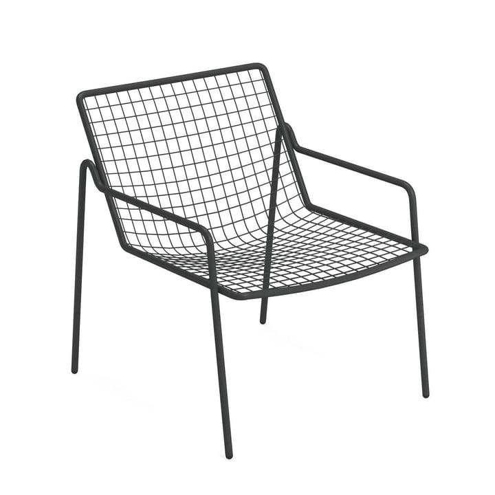 Chaise longue Rio R50, fer ancien par Emu