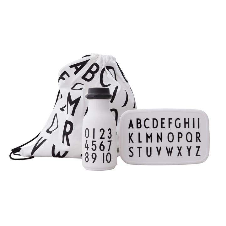 School Start Set ABC, noir / blanc de Design Letters