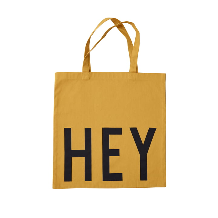 AJ Favourite Sac de transport, Hey / moutarde de Design Letters