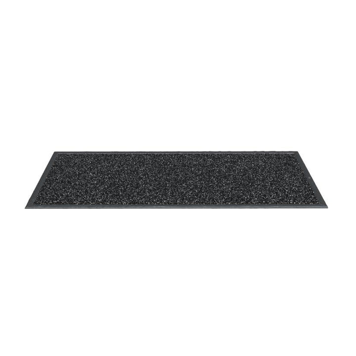 Paillasson Indoor 90 x 60 cm de Rizz en anthracite