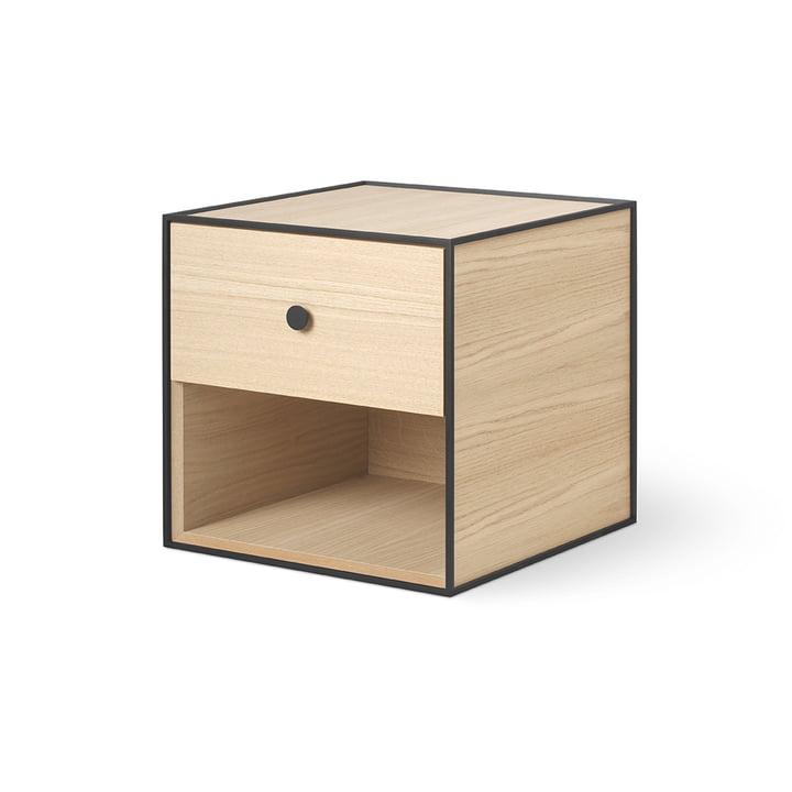 Frame 35 avec 1 tiroir by Lassen en chêne