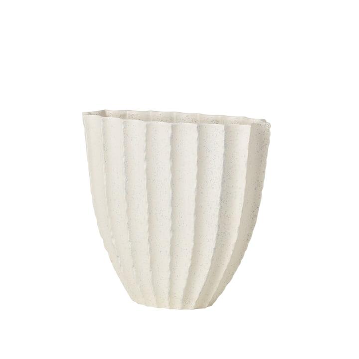 Debbie Vase H 25 cm, blanc de Broste Copenhagen