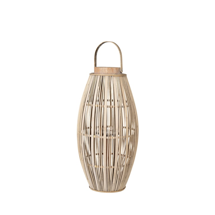Aleta Lanterne en bambou, Ø 31,5 x H 62,5 cm, naturel de Broste Copenhagen